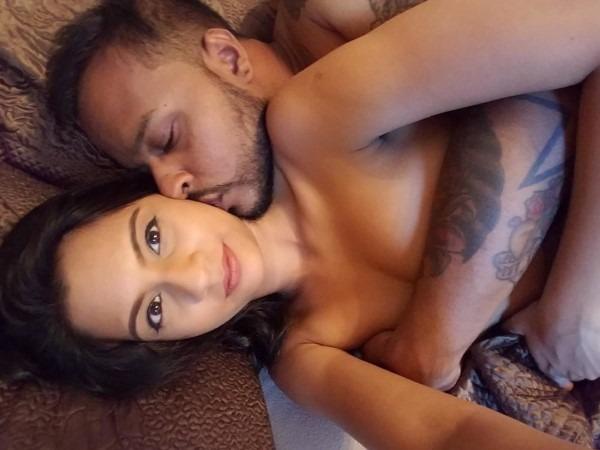 Nude Indian couples enjoying moment 34