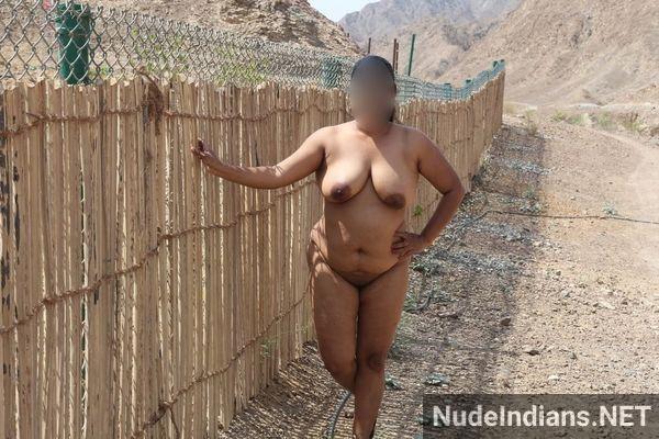 badass desi sexy aunties naked outdoors - 17