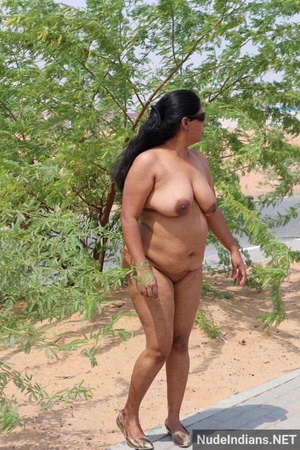 badass desi sexy aunties naked outdoors - 35