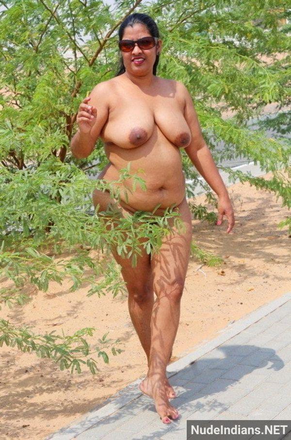 badass desi sexy aunties naked outdoors - 36