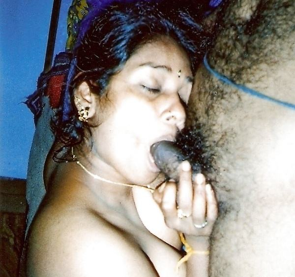 indian aunty blowjob pics sucking lovers cock - 45