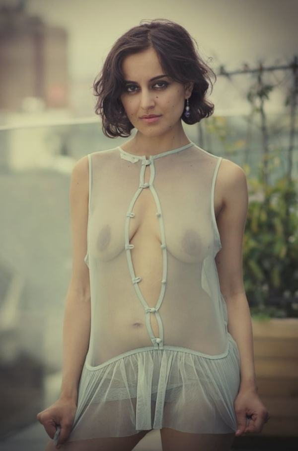 naughty indian nude girlfriend ass tits pics - 20