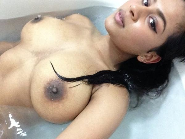 naughty indian nude girlfriend ass tits pics - 9