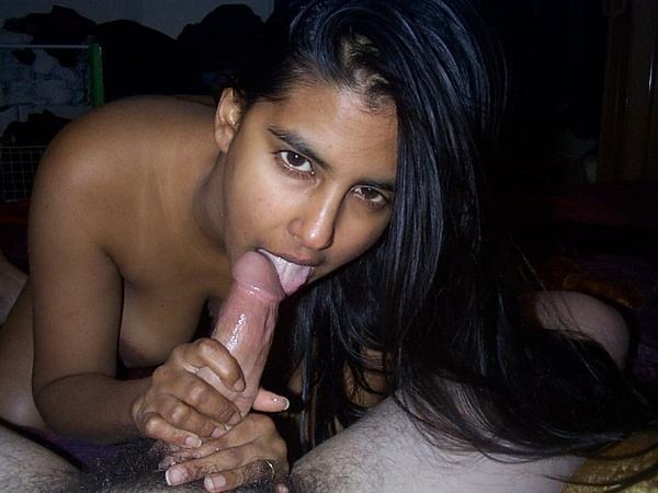 sexy blowjob desi wife gf pics dick worship - 14