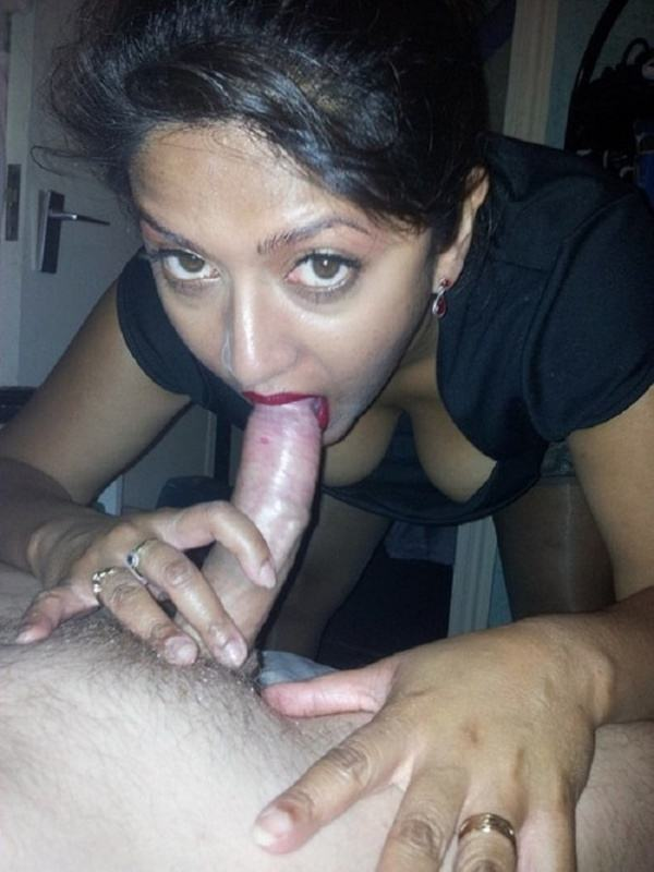 desi blow job picture sexy wife satisfying hubby - 45