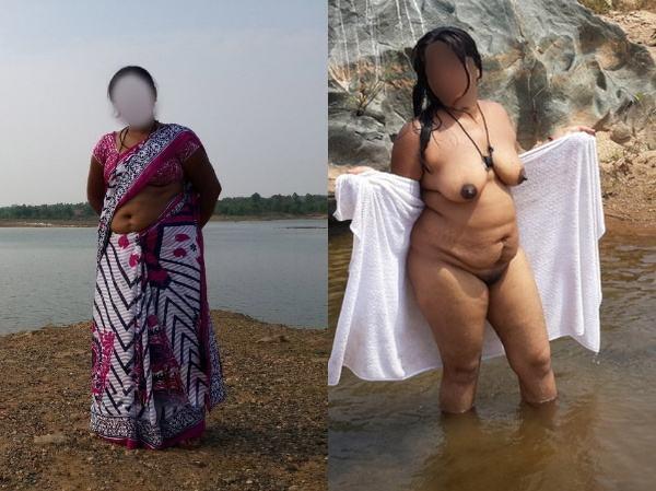 mallu aunty nude sexy big juicy boobs pics - 33