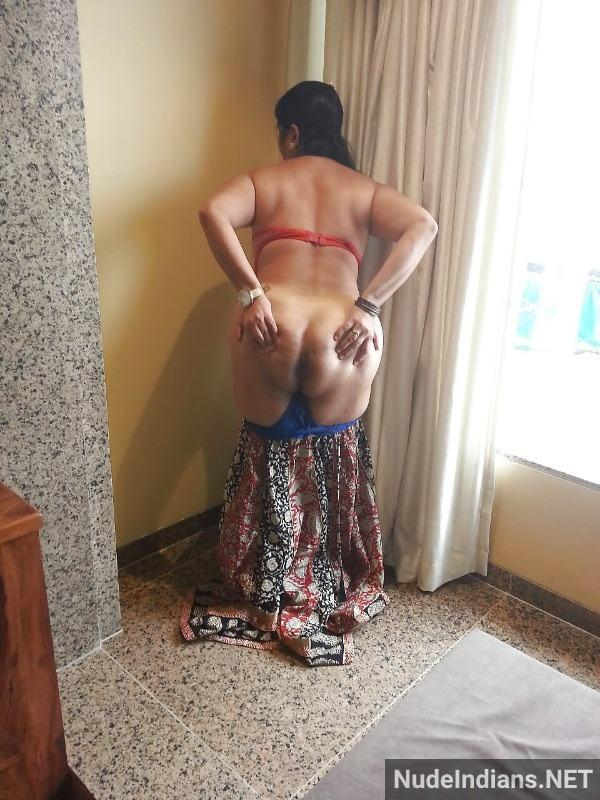 indian hot aunty nude pics mature big boobs booty - 42